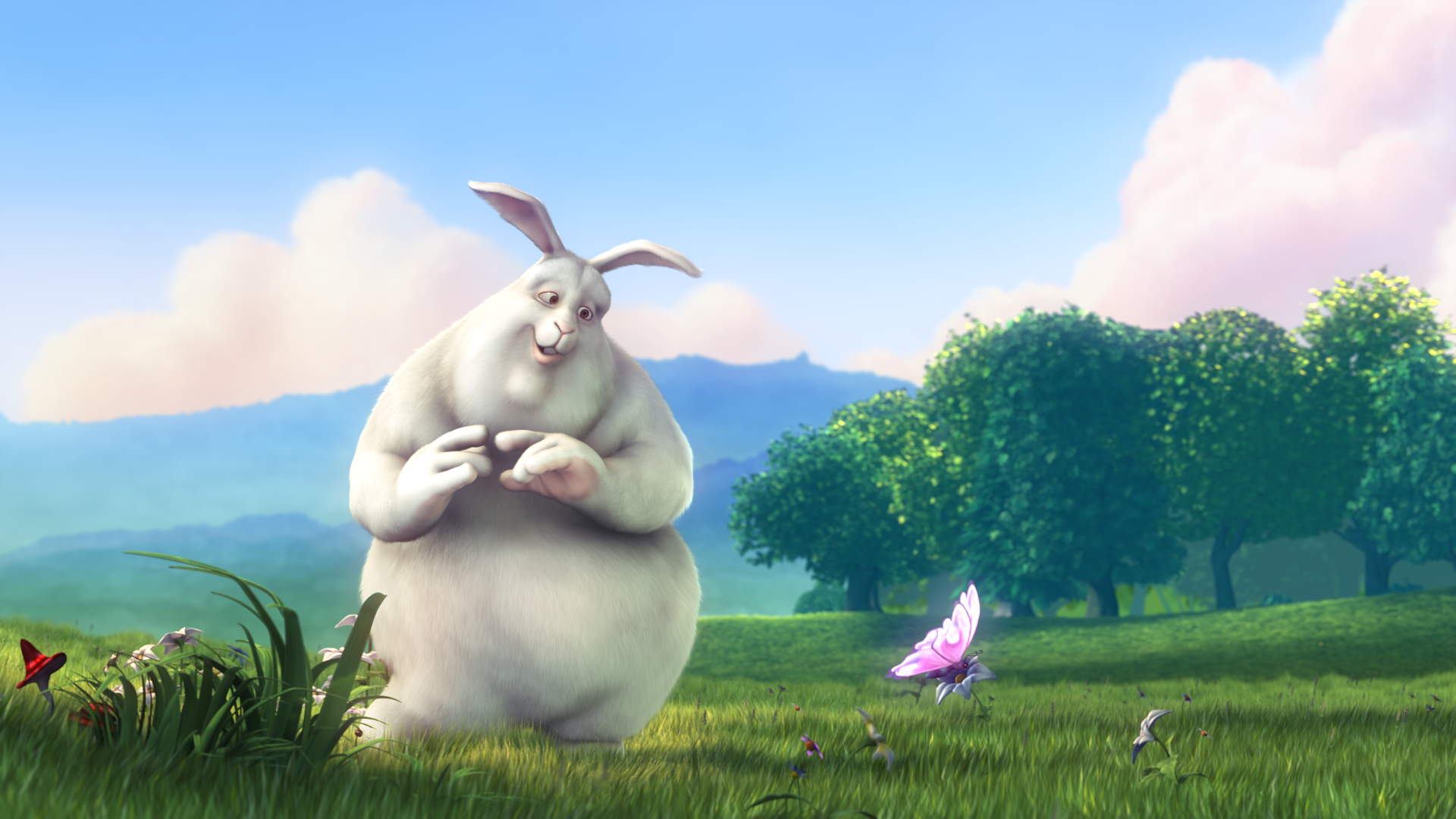 screenshot 1 Big Buck Bunny content image